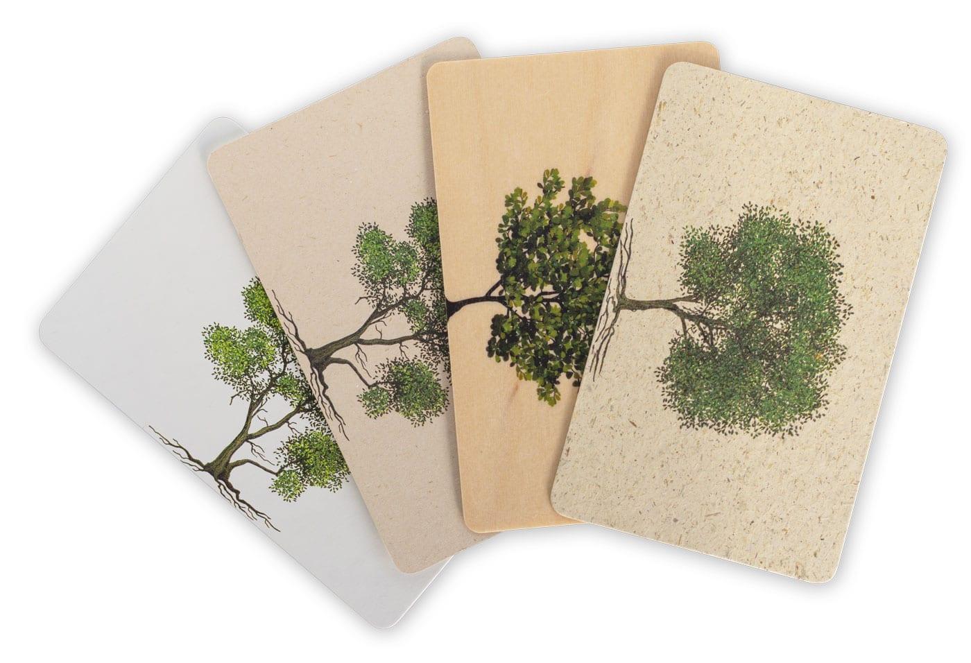 Umweltfreundliche Karten - exceet Card Group