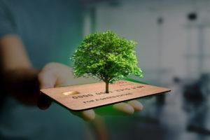 Nachhaltige Kartenproduktion - exceet Card Group